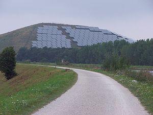 Solar Powerplant on former Landfill in Fürth/G...