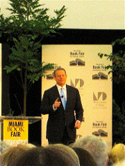 Al Gore at Miami Book Fair